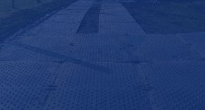 Premier Rail Services Trackmat Installation For Road And Pedestrain Access