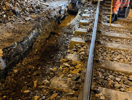 Level crossing installation Oakham Premier Rail