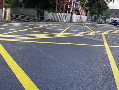 Premier Rail upgrading Oakham crossing