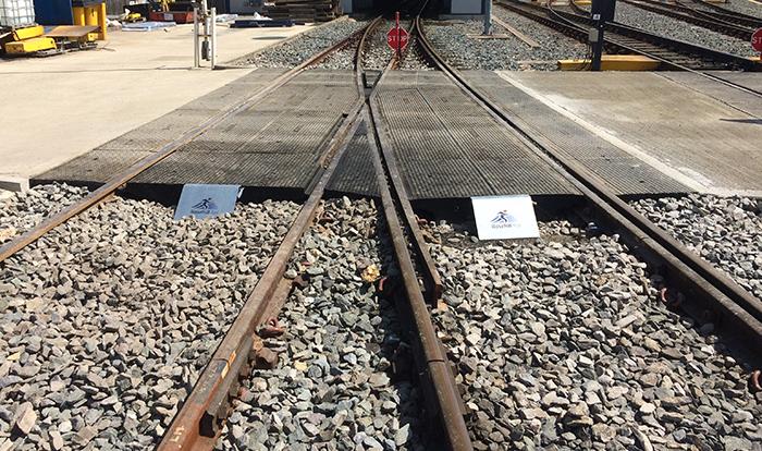 Rosehill rail RRAP installation